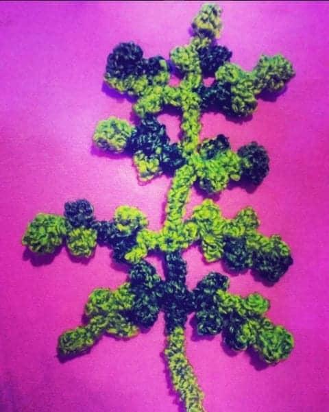 crochet fern free crochet pattern