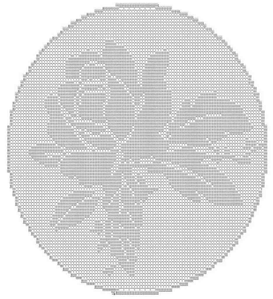 free filet crochet pattern rose crochet pattern filet crochet pattern