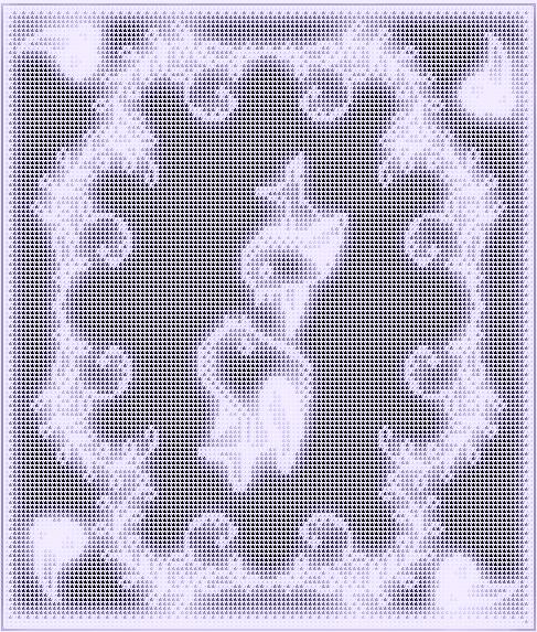 Free Filet Crochet Pattern little bird