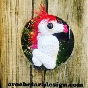crochet seahorse free crochet pattern