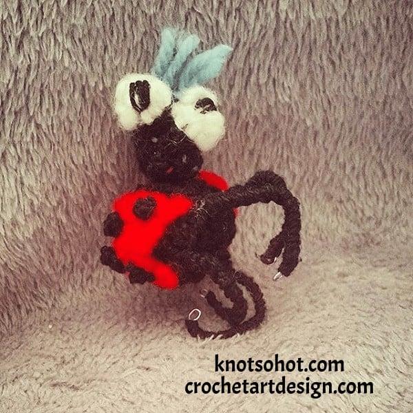 crochet ladybug pattern ladybug crochet pattern