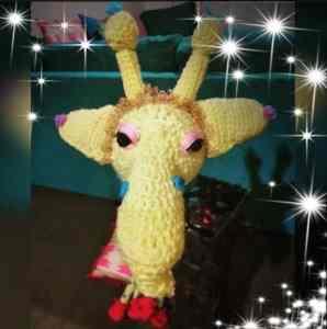 crochet giraffe amigurumi free pattern