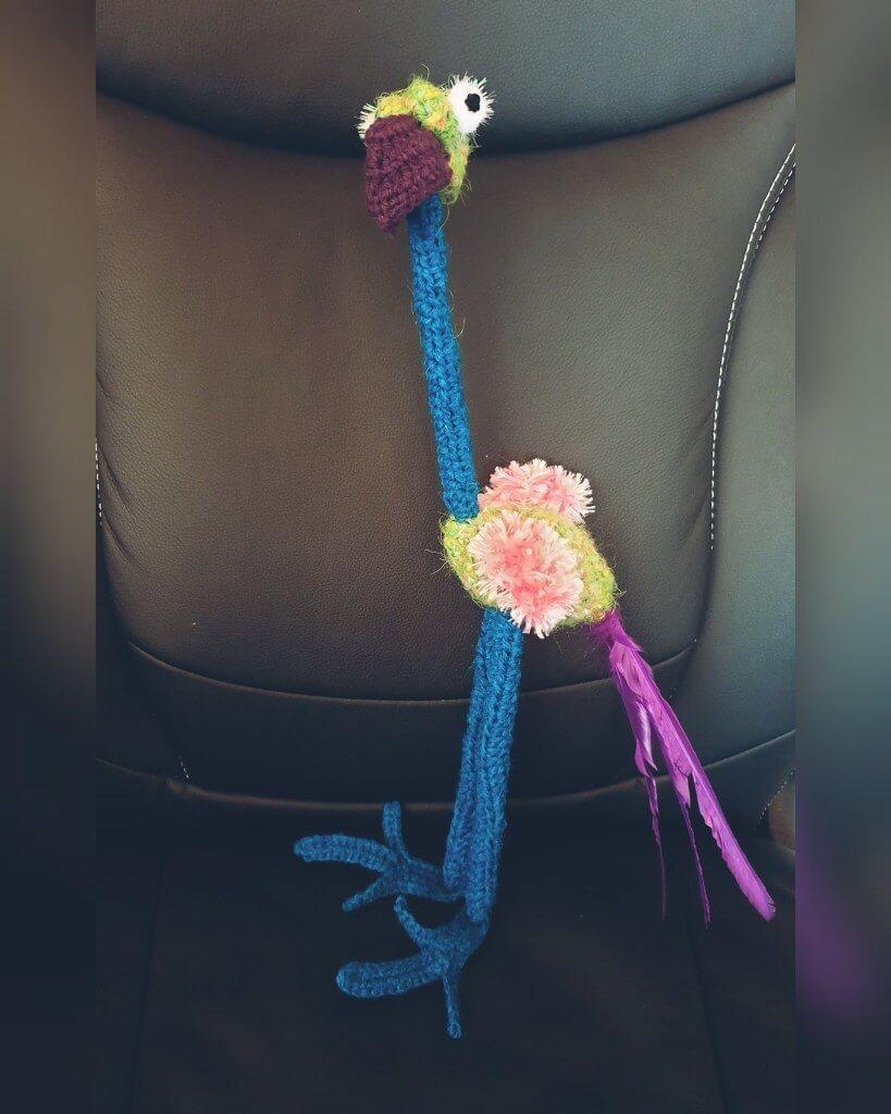 crochet Emu pattern