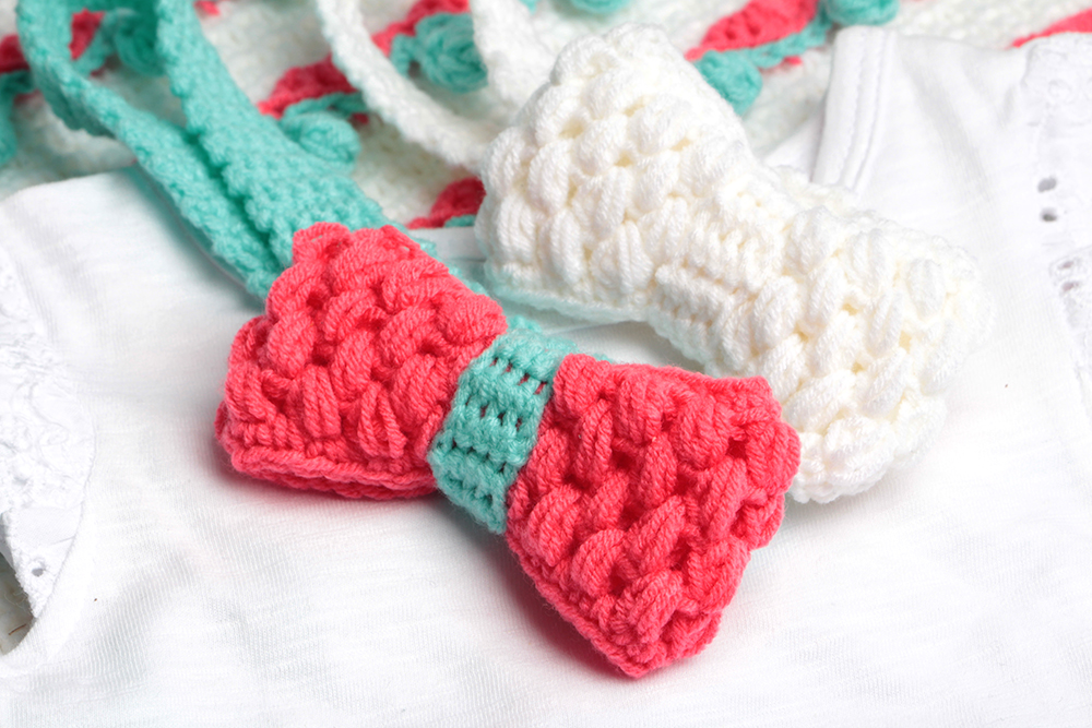 Sweetheart Bow Crochet Pattern