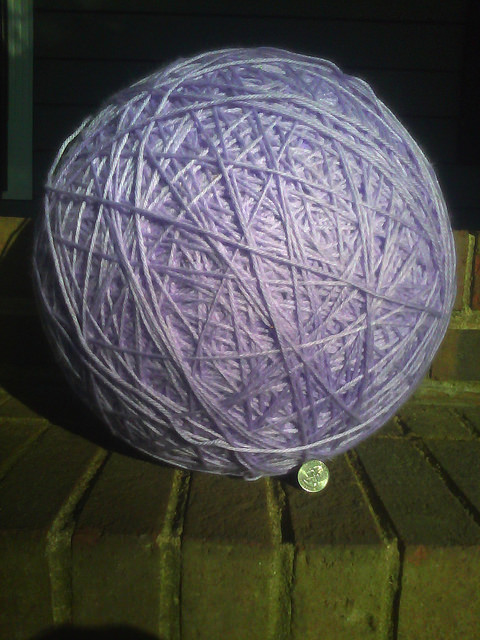 large yarn ball