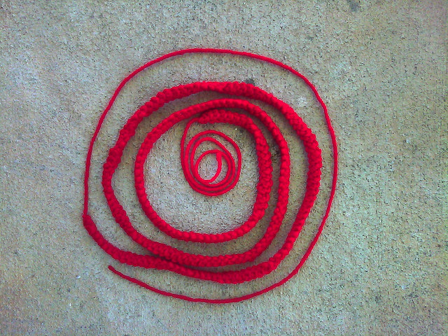 caterpillar braid romanian point lace