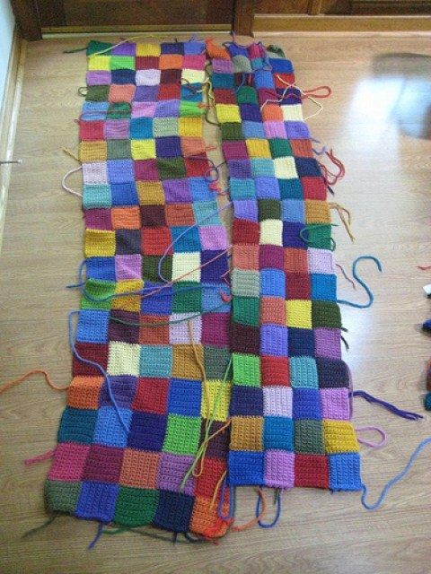 Crochet squares for a crochet rug, crochetbug, crochet motifs,