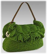 fendi chef crochet purse