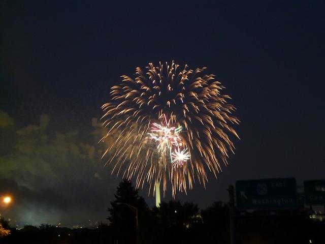 crochetbug, crochet tiger, amigurumi tiger, crochet toy, diy toy, washington dc, fourth of july, fireworks