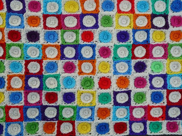 crochet squares crochet circles
