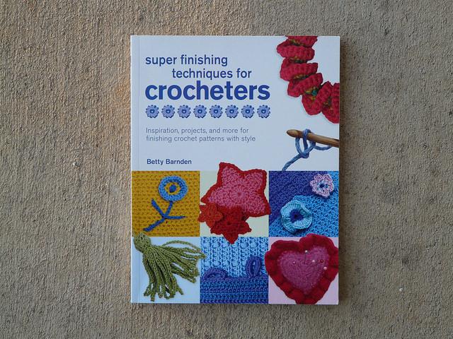 finishing techniques crochet book