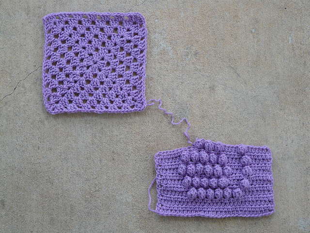 crochetbug, crochet square, crochet granny square, granny square blanket, granny square afghan, crochet afghan, crochet blanket, crochet bobble stitch