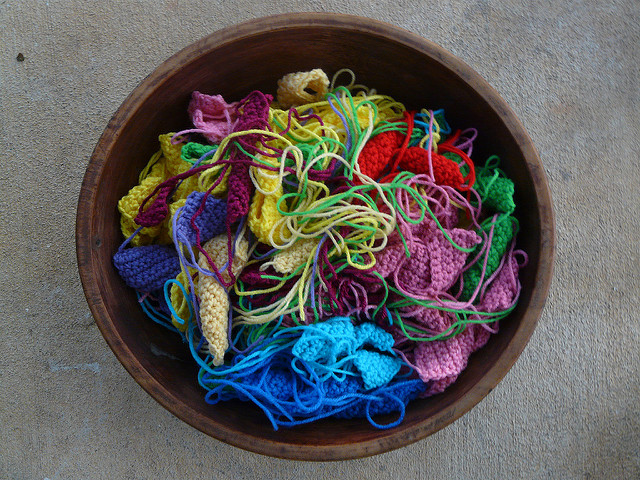 crochet bauhaus squares and rectangles