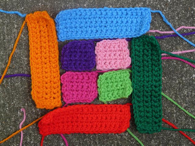 crochet squares crochet rectangles crochet quilt block