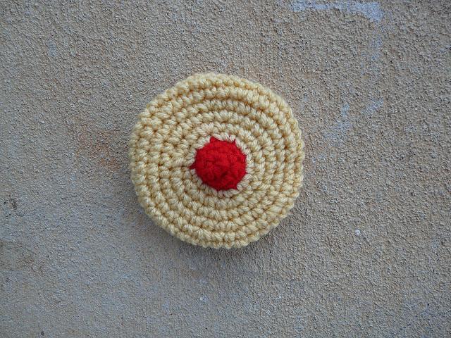 crochet cookie crochet cherry wink