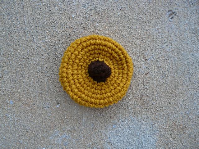 crochet cookie crochet peanut butter blossom