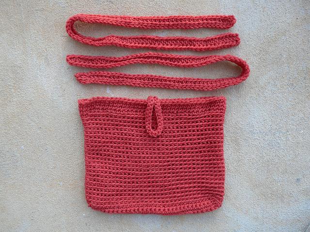 future felted crochet purse