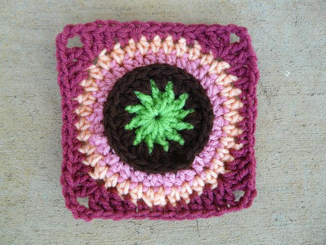 Crochet Square E-6