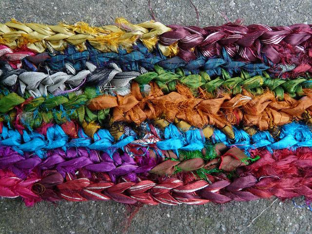 rag rug crochet stitches