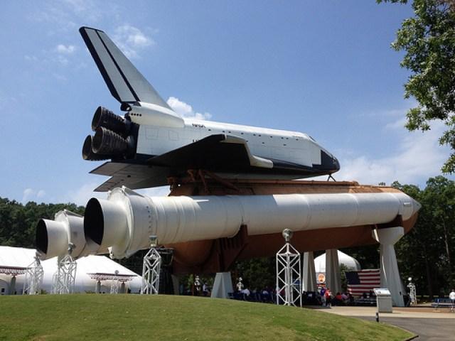 the pathfinder shuttle mock up in huntsville alabama