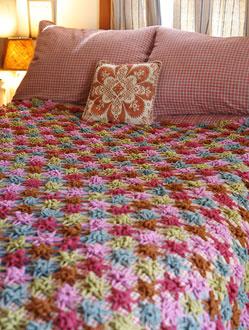 crochetbug, crochet, crochet motif, crocheted, crocheting, bedrock