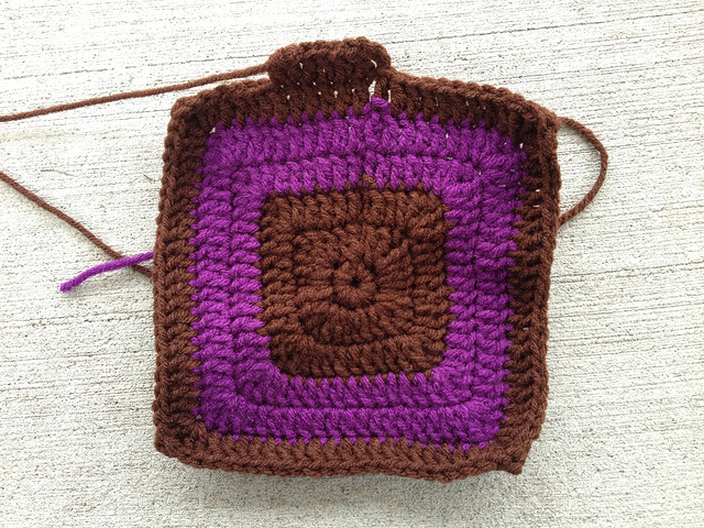 Looking forward to a  crochet fat bag made from worsted weight acrylic yarn