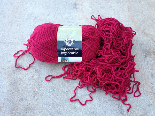 yarn vomit