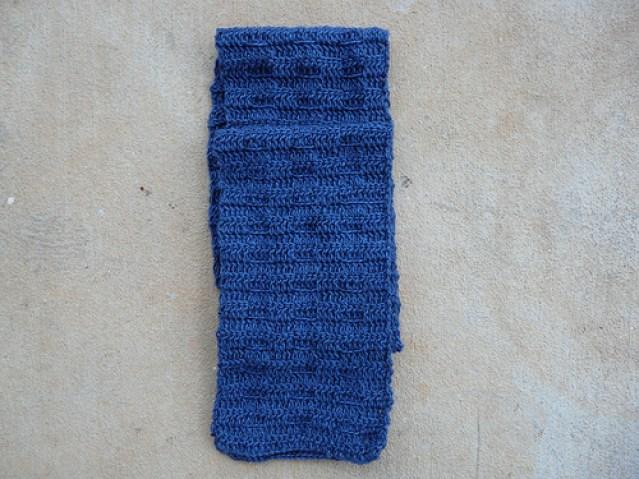 Mariner's scarf, crochetbug, crochet scarf, textured crochet, crochet squares, crochet gift