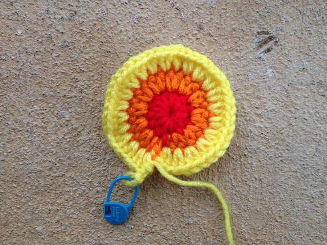 incipient hyperbolic crochet plane