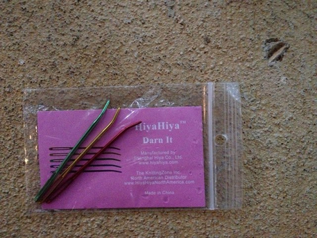 crochetbug, bent-tipped yarn needles, crochet tools, weaving in ends