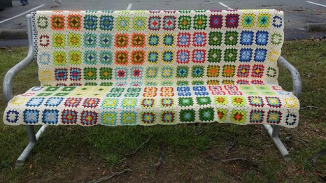 scrap granny square afghan, crochetbug, crochet blanket, crochet afghan, granny square blanket, scrap yarn crochet