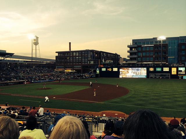 Stitch and Pitch 2014 at Durham Bulls Athletic Park, Durham, North Carolina