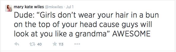 Clueless dude tweets