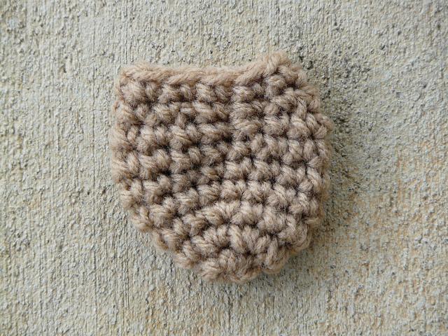 chair leg socks crochet