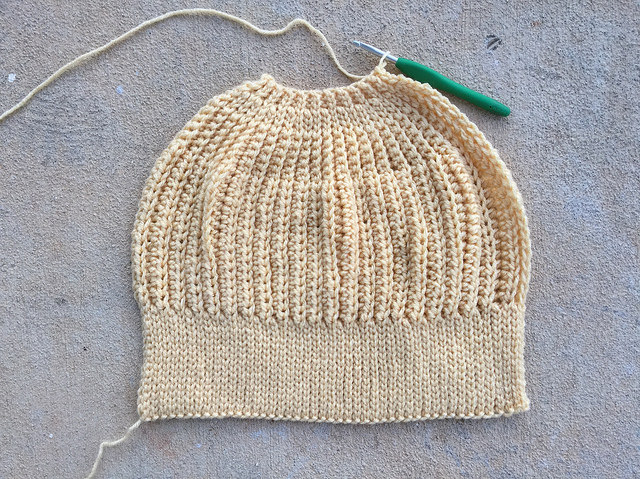 future crochet cap