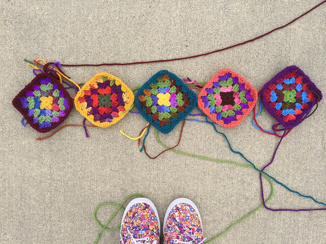 granny squares crochet squares
