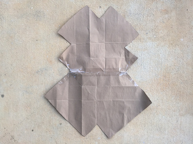 purse lining template