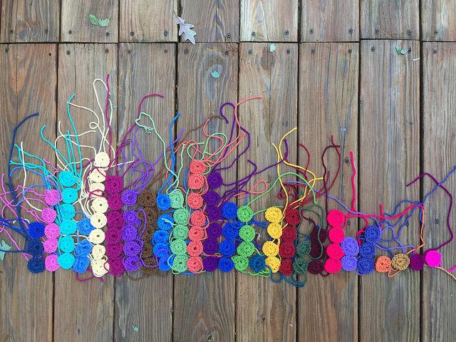 small crochet squares