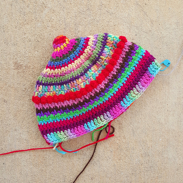 The new colorway B for some Valentine's day crochet