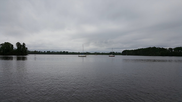 The Pamlico River