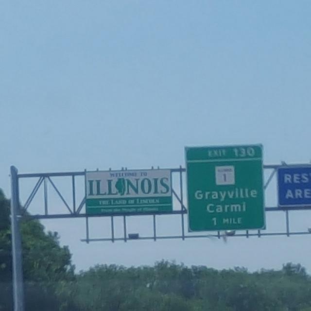 Illinois state line