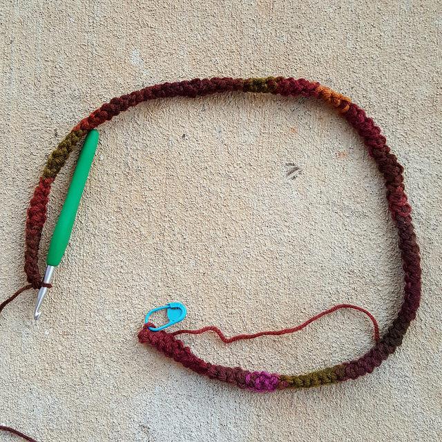 crochet romanian point lace cord