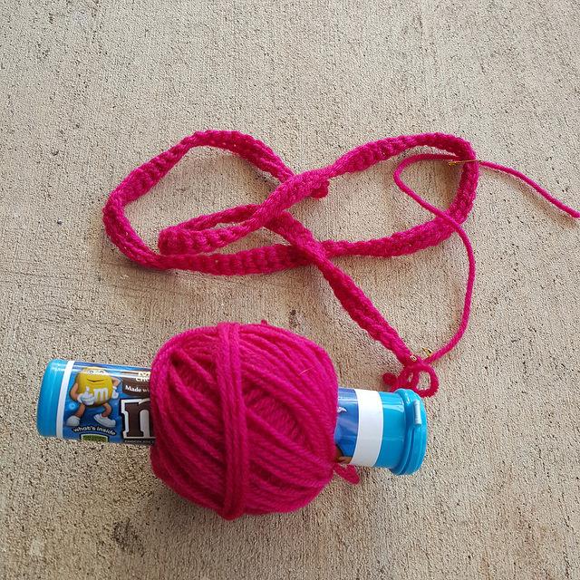 a nostepinne yarn wrangler