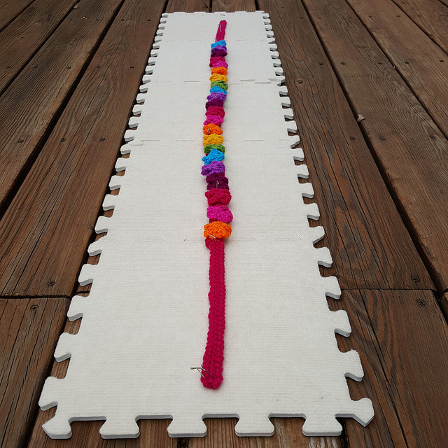 crochet flower crochet strap