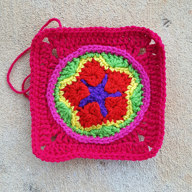 crochetbug, crochet square, crochet circle, crochet star, granny square, granny squares