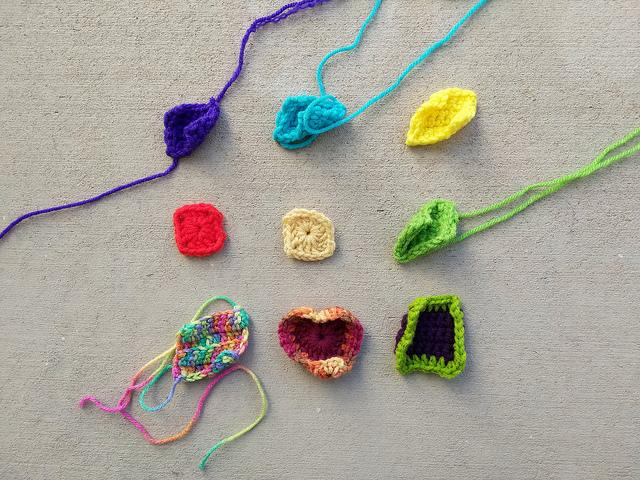Nine crochet remnants identified for crochet rehab