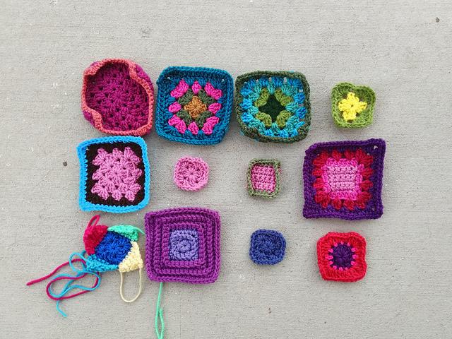 Progress on the twelve crochet remnants undergoing rehab