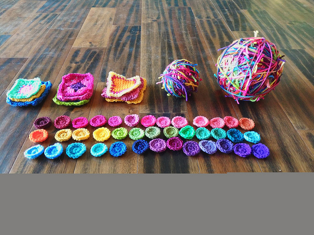 All in a day's crochet work