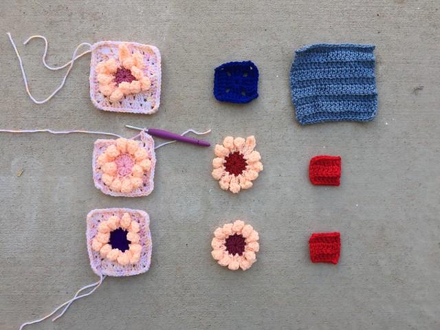 The crochet rehab begins in earnest