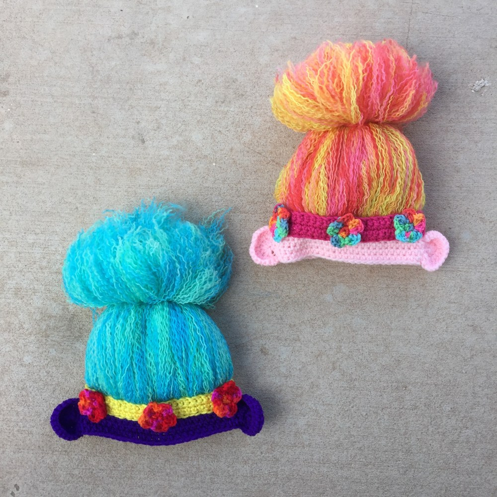 The first and second troll hat ready for adventure